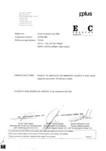 тексаунд ft сертификат Акустические испытания