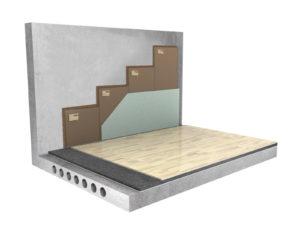 Бескаркасная система звукоизоляции стен «Слим П»