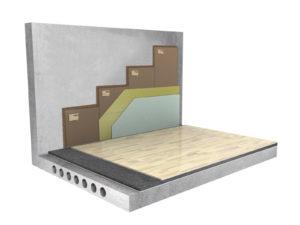 Бескаркасная система звукоизоляции стен «Слим Премиум»