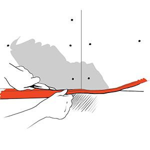 Обрезка ленты