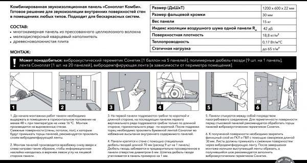 Соноплат комби инструкция