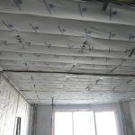 термозвукоизол потолок монтаж